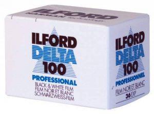 ILFORD FILM NOIR ET BLANC DELTA 100 PROFESSIONAL 36 POSES de la marque Ilford image 0 produit