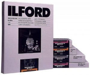 Ilford Ilfospeed RC Deluxe IS.44M Papier Photo Perlé 17,8 x 24,0 cm 25 feuilles grad. 2 de la marque Ilford image 0 produit