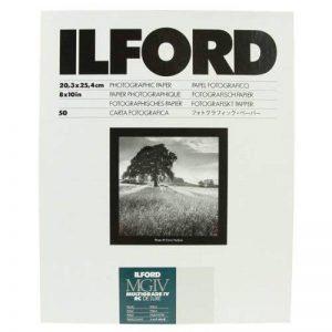 Ilford Multigrade RC Deluxe Lot de 50 feuilles de papier photographique Perle 20,3 x 25,4 cm de la marque Ilford image 0 produit