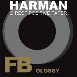 Ilford Pack de 25feuilles de papier positif direct à base de fibres Brillance 1K de la marque Ilford image 0 produit