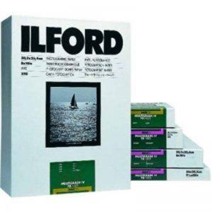 Ilford Papier Multigrade Baryté photo argentique 20,3 x 25,4 cm Blanc de la marque Ilford image 0 produit