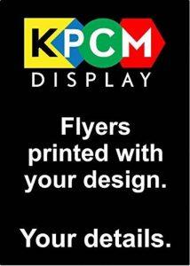 Imprimé Flyers Format A4–210mm x 297mm–Qté 250–170g/m² de la marque KPCM Display image 0 produit