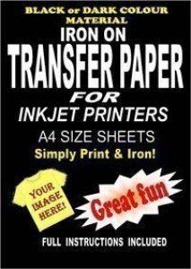 Imprimables fer sur T-Shirt &de Papier transfert textile pour tissu foncé 20 ... de la marque Madaboutink image 0 produit