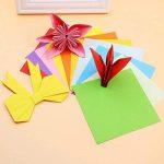 iNeith Papier Origami 100 Feuilles 50 Couleurs Simple face Pour Projets Artistiques et Artisanaux de la marque iNeith image 3 produit