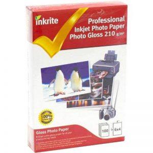 Inkrite PhotoPlus Professional Papier photo brillant 210 g/m² 6 x 4 100 feuilles (Import Royaume Uni) de la marque Inkrite image 0 produit