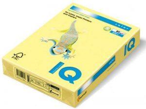 Iq 130099 - Papier multifonction couleur IQ couleur 80G A3 jaune - paquet de 500 feuilles de la marque IQ image 0 produit