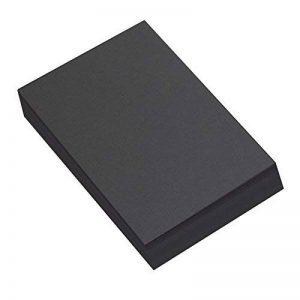 Ivy Stationery Lot de 100 feuilles de papier Sugar Paper Format A4 Noir de la marque Ivy Stationery image 0 produit