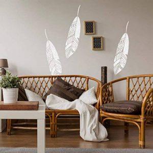 J Boutique Pochoirs Bohème plumes mural Pochoir, pochoirs réutilisables pour votre Décoration d'intérieur de la marque J BOUTIQUE STENCILS image 0 produit