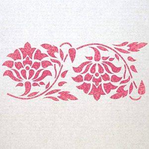 J Boutique pochoirs Frise murale pochoirs Motif 011réutilisable modèle pour DIY Décoration murale de la marque J BOUTIQUE STENCILS image 0 produit