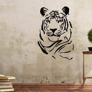 J Boutique pochoirs mur Graffiti Pochoir pochoirs Tigre modèle pour mieux que Papier peint Stickers de la marque J BOUTIQUE STENCILS image 0 produit