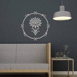 J Boutique Pochoirs Nénuphar ronds pour pochoir facile DIY Home Improvement réutilisable Décoration murale de la marque J BOUTIQUE STENCILS image 0 produit