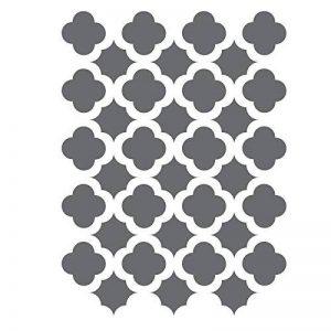 J BOUTIQUE pochoirs treillis style marocain carrelage tailles scale- Pochoirs décoration DIY pour les travaux manuels de la marque J BOUTIQUE STENCILS image 0 produit
