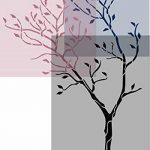 J Boutique Stencils Pochoir mural Motif grand arbre avec oiseaux–Réutilisable, mieux que le papier peint de la marque J BOUTIQUE STENCILS image 3 produit