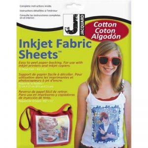 Jacquard Lot de 10feuilles de tissu 100% coton percale à imprimer 21 x 27cm de la marque Jacquard Products image 0 produit
