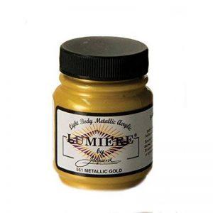 Jacquard produits 2,25Oz Lumiere peinture acrylique métallique, doré métallique de la marque Jacquard Products image 0 produit