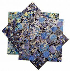 Japonmania - Papier japonais washi yuzen 15 x 15 cm - 5 feuilles de la marque Japonmania image 0 produit
