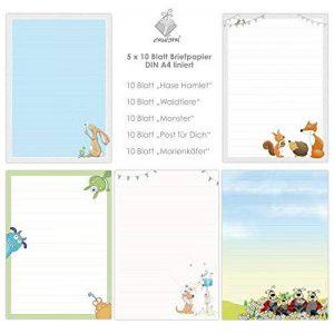 joli papier à lettres TOP 8 image 0 produit