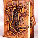 Journal Album Chouette 200pages carnet en cuir avec fermeture Diary livre en cuir Poésie de la marque Atelier Bebek image 1 produit