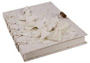 Journal Flaura Grand Format Fait-main Argile, Uni Pages (21cm x 15cm x 2cm) de la marque Life Arts image 0 produit