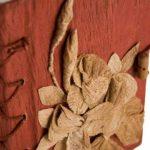 Journal Flaura Grand Format Fait-main Rouge, Uni Pages (21cm x 15cm x 2cm) de la marque Life Arts image 3 produit