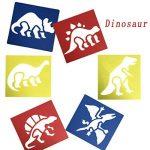 JT-Amigo Lot de 30 Pochoirs de Dessin Enfants, Animaux, Transport et Dinosaures de la marque JT-Amigo image 3 produit