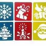 JT-Amigo Lot de 30 Pochoirs de Dessin Enfants, Animaux, Transport et Noël de la marque JT-Amigo image 3 produit