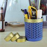 Kbnian 10 Rouleaux Washi Tape Masking Tape, Ruban Adhésif en Dorée Papier Décoratif pour Scrapbooking, Cadeaux, Noël, Fête, Mariage (15mm x 10M) de la marque Kbnian image 4 produit
