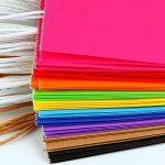 Keriber 20Pcs Paper Party sac cadeau Sac Kraft papier sac avec poignée pour anniversaire, Tea Party, mariage, célébrations, couleurs colorées de la marque Keriber image 4 produit