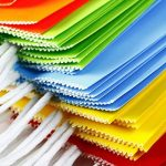 Keriber 20Pcs Paper Party sac cadeau Sac Kraft papier sac avec poignée pour anniversaire, Tea Party, mariage, célébrations, couleurs colorées de la marque Keriber image 5 produit