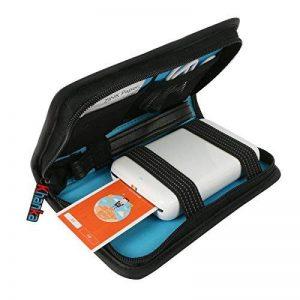 Khanka Voyage étui Housse Porter Sac Case pour Polaroid ZIP / HP Sprocket Mobile Printer ZINK Imprimante - Noir de la marque Khanka image 0 produit