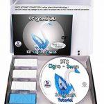 Kit origami 3D Cygne/Swan – 310 pièces carton de 1/32 sur base A4 + DVD tutoriel vidéo dans italien & Anglais – zwischendurch de la marque Ying 3D Origami image 1 produit