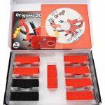 """Kit Origami 3D Dragon / Dragon 490 Pcs. - Carton """"PRE-SIGNÉ"""" Pour Cintrage Facile Pari A 1/32 Sur Base A4 DVD-Tutorial En Italien et Anglais - Niveau Difficile - Made In Italy de la marque Ying 3D Origami image 1 produit"""