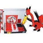 """Kit Origami 3D Dragon / Dragon 490 Pcs. - Carton """"PRE-SIGNÉ"""" Pour Cintrage Facile Pari A 1/32 Sur Base A4 DVD-Tutorial En Italien et Anglais - Niveau Difficile - Made In Italy de la marque Ying 3D Origami image 4 produit"""