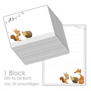 kit papier à lettre TOP 1 image 0 produit