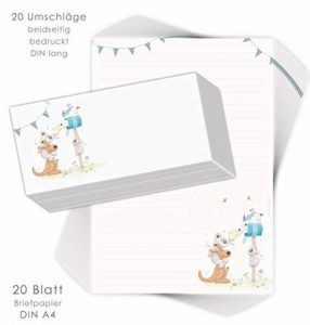 kit papier à lettre TOP 2 image 0 produit