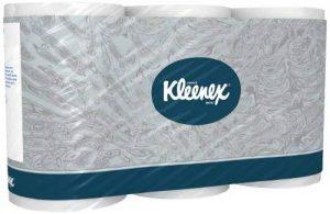 Kleenex 8440 Papier toilette (standard), 350 feuilles par Rouleau, (6 paquet de 6 rouleaux) de la marque Kleenex image 0 produit