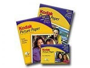 Kodak Boîte de 40 feuilles 10x15 cm 190g Papier photo brillant de la marque Kodak image 0 produit