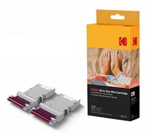 Kodak - Nouvelle cartouche MC d'impression photo Mini - Cartouche tout-en-un (encre et papier) - Lot de 20 - Compatible avec appareil photo Mini Shot, imprimante Mini 2 de la marque Kodak image 0 produit