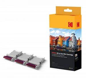Kodak - Nouvelle cartouche MC d'impression photo Mini - Cartouche tout-en-un (encre et papier) - Lot de 30 - Compatible avec appareil photo Mini Shot, imprimante Mini 3 de la marque Kodak image 0 produit