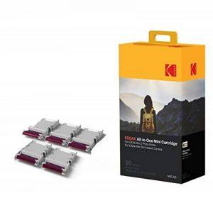 Kodak - Nouvelle cartouche MC d'impression photo Mini - Cartouche tout-en-un (encre et papier) - Lot de 50 - Compatible avec appareil photo Mini Shot, imprimante Mini 4 de la marque Kodak image 0 produit