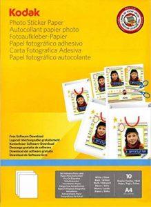 Kodak Papier Photo Autocollant imprimable A410 de la marque Kodak image 0 produit