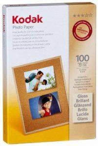"""Kodak-Papier Photo-Impression jet d'encre, 10 x 15 cm (6 x 4 """") - 100 feuilles de la marque Kodak image 0 produit"""