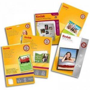 Kodak Premium Papier photo pour impression jet d'encre A6 10 x 15 cm 240 g 50 feuilles de la marque Kodak image 0 produit