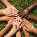 Konsait 300 x 72 x tatouages temporaires de licornes, tatouages ephémères enfants,anniversaire licorne d'enfant, petit cadeau pinata, motifs avec accessoired de licornes pour filles de la marque Konsait image 4 produit
