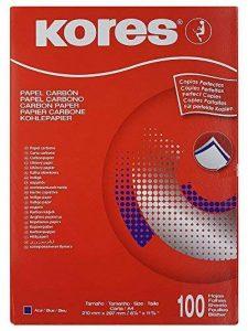 Kores kd78478feuillets, DIN A4, bleu, 100feuilles de la marque Kores image 0 produit