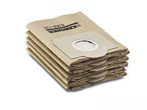 Kärcher Sachet filtre papier accessoire pour les aspirateurs multifonctions eau et poussières WD 3, WD 3300 M, WD 3500 P,A 2204, A 2254 Me, A 2504, A 2554 Me, A 2604, A 2654 Me, A 2656 X+, A 2674 PT+, A 2251 et A 2901 de la marque Kärcher image 0 produit