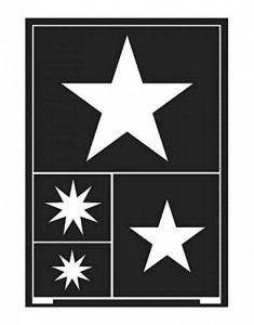 KREUL 74859–conception flexible Pochoir étoiles A5 de la marque KREUL image 0 produit