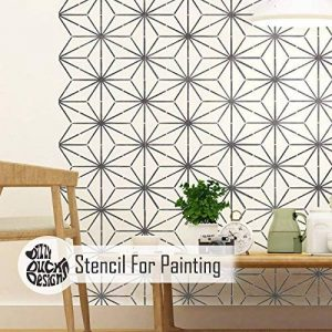 KYOTO Meubles Mur Sol Pochoir Pour Peinture - Meubles Moyen de la marque Dizzy Duck Designs image 0 produit