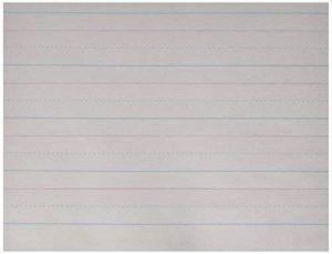L'école Smart Rouge et Bleu Lot de journaux–Grade K–101/5,1x 20,3cm–Ramette de 500–Blanc de la marque Smart School image 0 produit
