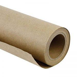 LaRibbons Papier d'emballage Kraft Brun / Naturel, 50 cm de Large par 20 m par Rouleau de la marque LaRibbons image 0 produit